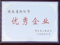 2007年湖南省衡阳市优秀企业.JPG