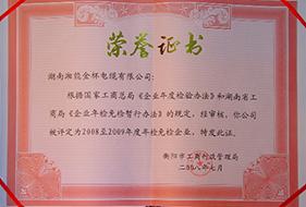 2008年至2009年度年检免检企业.JPG