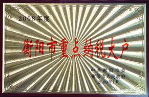 2009年度衡阳市重点纳税大户(2008年).JPG