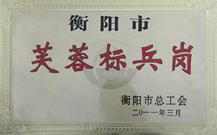 2011年度衡阳市芙蓉标兵岗.jpg