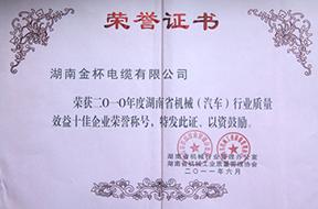 2011年度湖南省机械(汽车)行业质量效益十佳企业荣誉称号(2010年)1.jpg